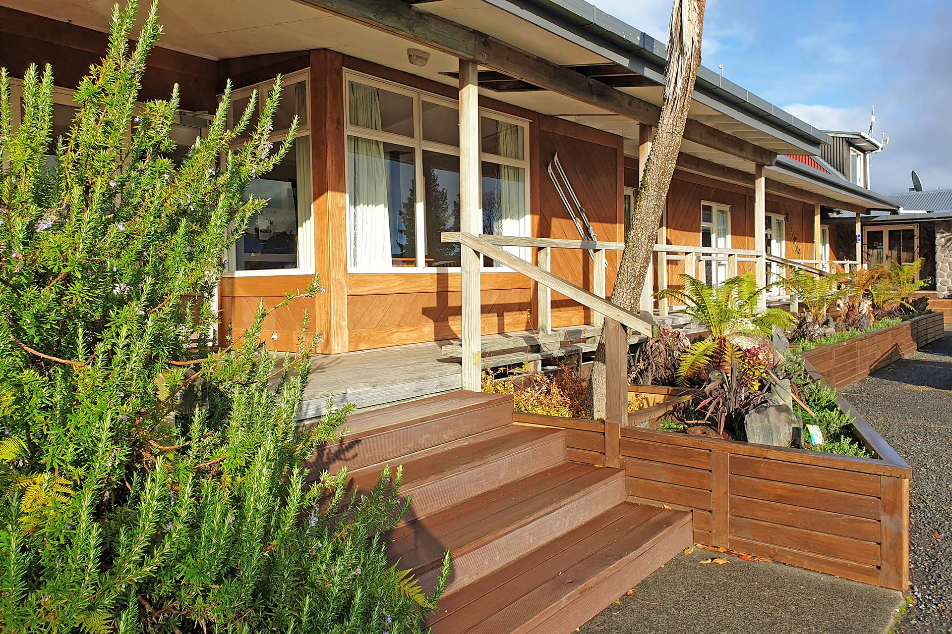 Plateau Lodge, accommodation in the Tongariro National Park